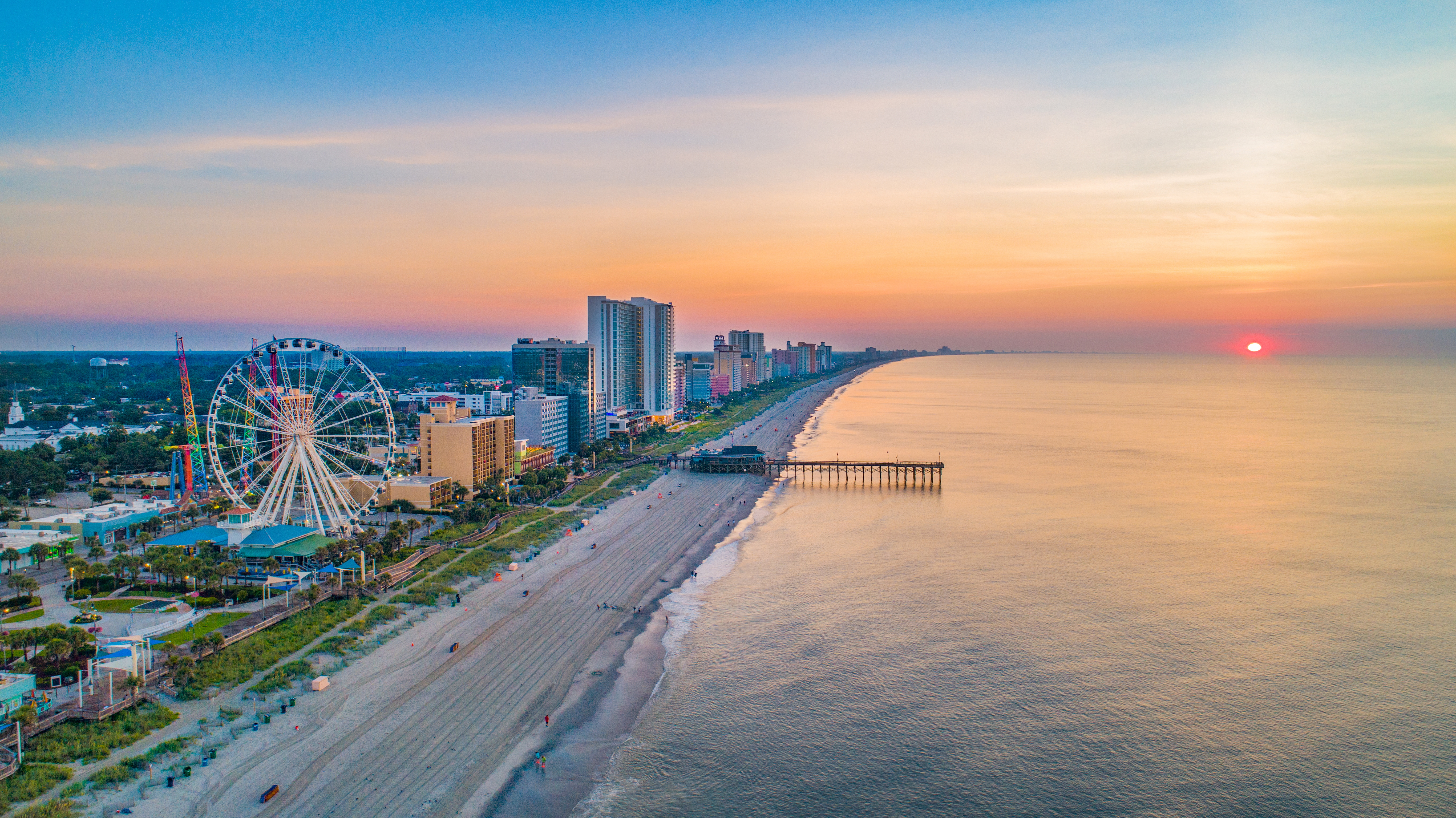 Myrtle Beach: the fastest-growing metro area 10/2019 to 10/2020